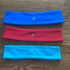 Lululemon fly away tamer headband !